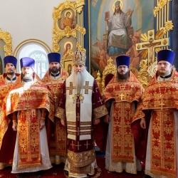 Состоялось соборное архиерейское богослужение