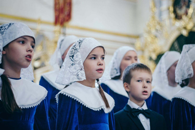 Детский хор при Спасо-Вознесенском соборе Ульяновск